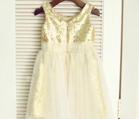 Gold Sequin Toddler ..