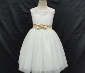 Ivory Flower Girl Dr..