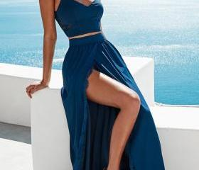 Navy Blue Two Pieces..