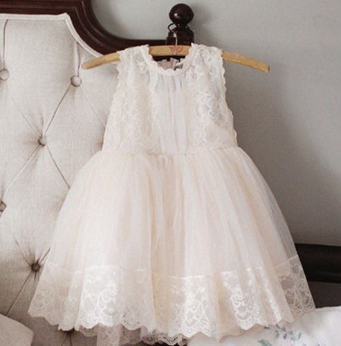 Cute Empire Waist Ivory Flower Girl Dress