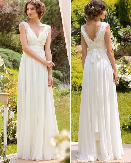 Spring Bohemian Bridal Wedding Dress on Luulla