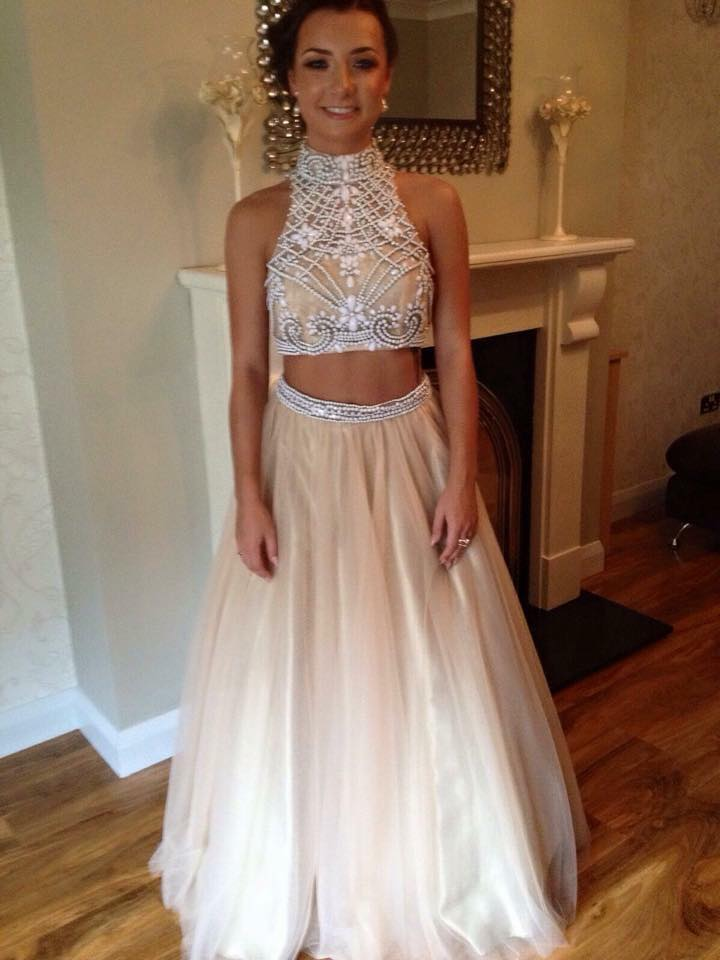 2 Pieces Prom Dress