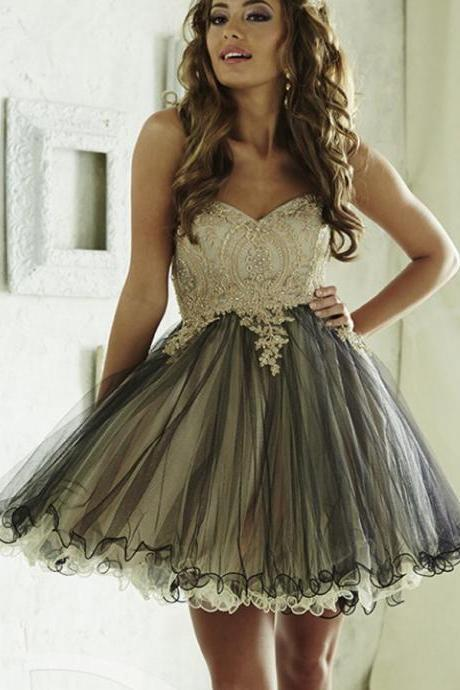 Sleeveless Short Homecoming Junior Graduation Prom Party Dress