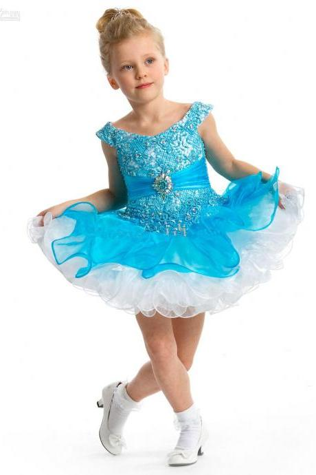Girl Tutu Pageant Dress