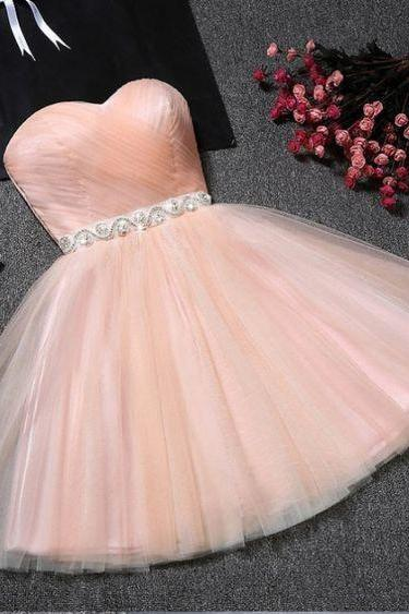 Sweetheart Neckline Short Homecoming Dress Party Dress