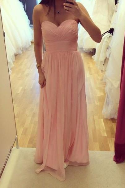 Evening Dress Sleeveless Blush Pink Formal Occasion Dress
