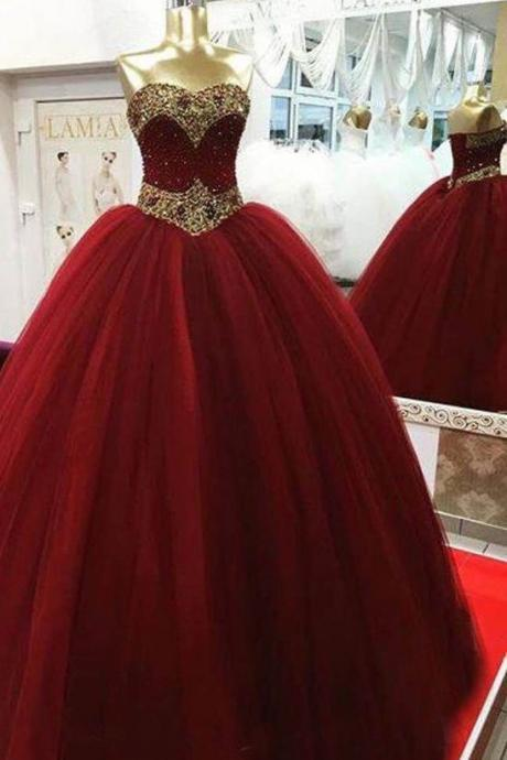 Quinceanera Dress with Beads