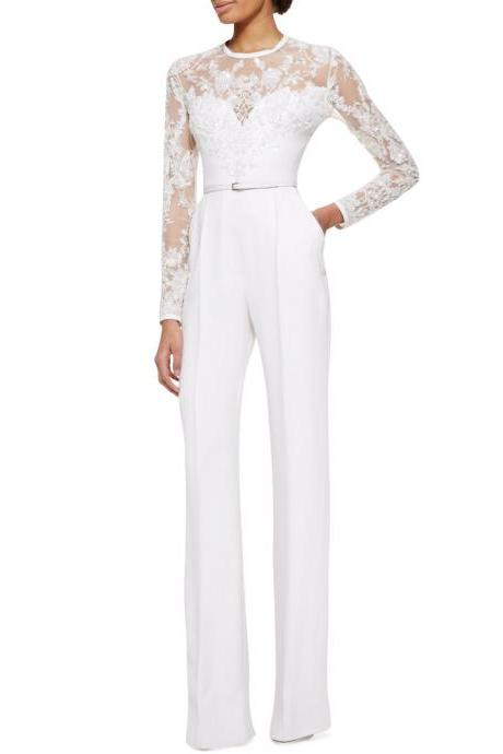 Long Sleeves Jumpsuit
