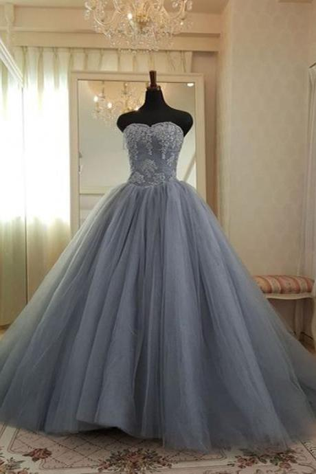 Sleeveless Ball Gown Pageant Dress