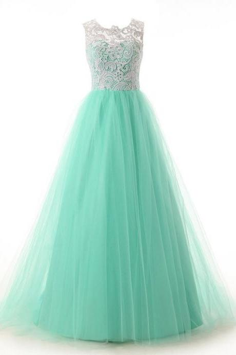 Sheer Sweetheart Neckling Long Evening Gown Pageant Dress