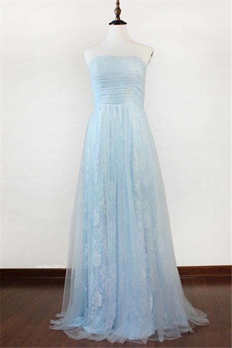 Elegant Strapless Evening Dress