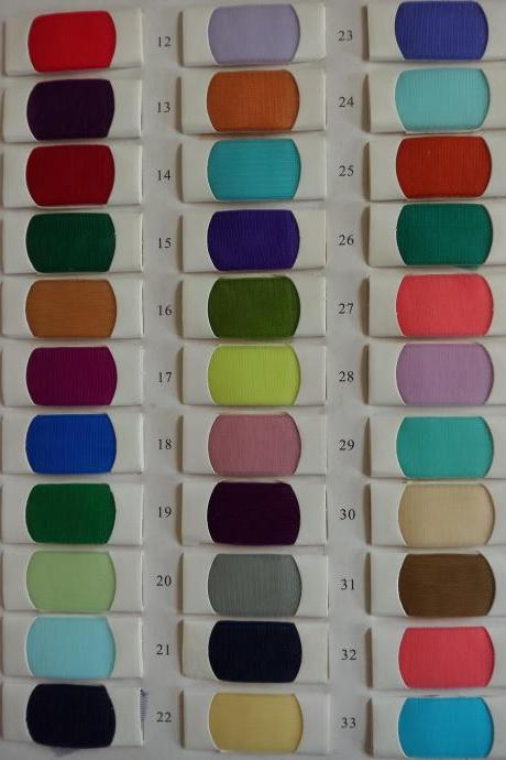 Tulle Color Swatches
