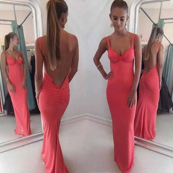 Backless Prom Dress