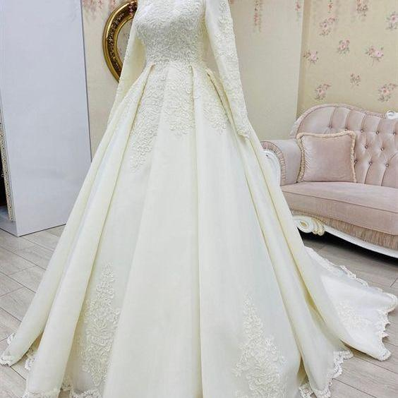 Modest Muslim Wedding Dresses