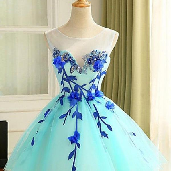 Homecoming Short Tulle Prom Dress